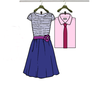 Shirt, Dress and Point