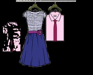 Camisa, Vestido y Punto